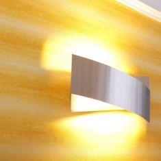 Wandleuchte 914 Nickel gebürstet, Chrom 1 x R7s 120W Wandlampe Beleuchtung chrom, Nickel