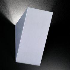 Wandleuchte aus mattiertem Aluminium
