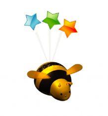 LED-Nachtlicht in Bienchenform mit Abschaltautomatik und Farbwechsler