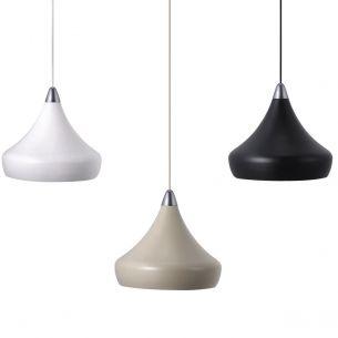 Pendelleuchte aus Metall und in drei verschiedenen Farben erhältlich, Designed by Seidenfaden