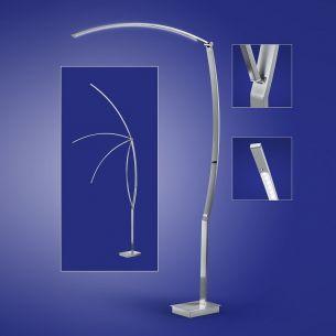 moderne stehleuchten stehlampen mit dimmer wohnlicht. Black Bedroom Furniture Sets. Home Design Ideas