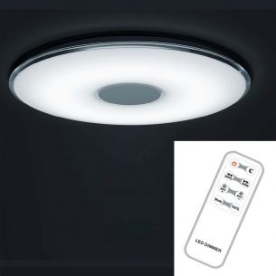 LED-Deckenleuchte mit Nachtlichtfunktion und Farbtemperaturwechsler von 3000K - 5500K 50 Watt  4000 Lumen