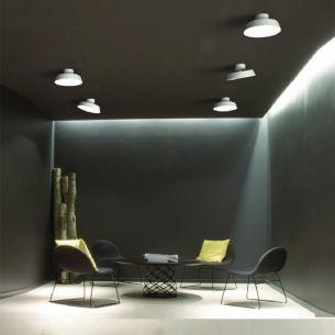 Schwenkbare LED-Deckenleuchte Alba in 2 Farben