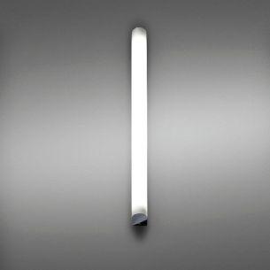 Bad-Leuchte Länge 90cm Kopfstücke in Chrom Chrom