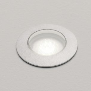 Bodeneinbauleuchte, 2,4 Watt LED inklusive, in anodisiertes Aluminium