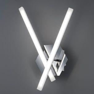 Wandleuchte - Inklusive LED 2 x 5 Watt  3000 Kelvin  350 Lumen + Extra 1x GU10 LED Leuchtmittel zur freien Nutzung
