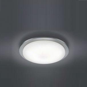 LED-Deckenleuchte  inklusive 5 x4,5 Watt Osram-LED, warmweiß 3000K, Leuchte in Nickel + Extra 1x GU10 LED Leuchtmittel zur freien Nutzung