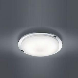 LED-Deckenleuchte  inklusive 5 x4,5 Watt Osram-LED, warmweiß 3000K, Leuchte in Chrom + Extra 1x GU10 LED Leuchtmittel zur freien Nutzung
