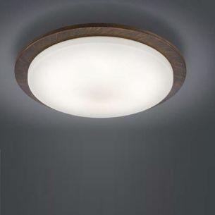 LED-Deckenleuchte  inklusive 5 x4,5 Watt Osram-LED, warmweiß 3000K, Leuchte in rost + Extra 1x GU10 LED Leuchtmittel zur freien Nutzung