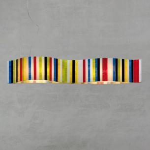 LED-Pendelleuchte VENTOPOP von ARTURO ALVAREZ -  Länge 58cm - LED 22,8Watt