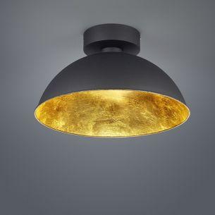 dimmbare led deckenleuchte 40 cm innen gold oder silber. Black Bedroom Furniture Sets. Home Design Ideas