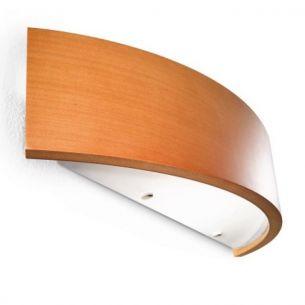 Holz liegt voll im Trend, in Kirsche Breite 40cm, inklusive Leuchtmittel Kirsche