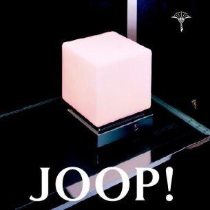 JOOP! CUBE LIGHTS Medium mit Opalglas - in Chrom-matt, Chrom-glänzend oder Nickel-matt wählbar