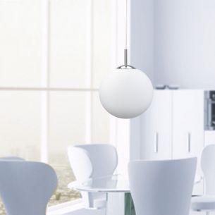 LED- Pendelleuchte Ø 30 cm - mit RGB-Farbwechsel - dimmbar - inklusive 1x 7,5 Watt LED und Fernbedienung