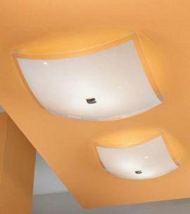 Moderne Deckenleuchte für klares helles Licht - in 2 Größen