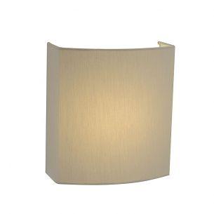LED-Wandleuchte mit eckigem Schirm in diversen Ausführungen - inklusive 10W LED - weiß 3500°K