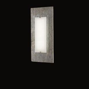 grau, Kreidestein-Optik, geschliffen