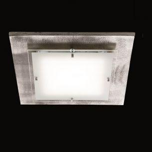 IP54 - LED-Deckenleuchte - SHINE MODULAR - inklusive 21,7Watt LED - Decor-Blende Nickel antik - Outdoor finisch, auch für den Außenbereich