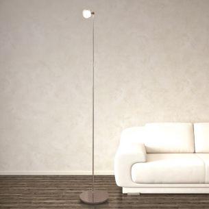 Standlampe PUK FLOOR MAXI SINGLE 1-flammig - in 3 Oberflächen - Linse, Glas oder Farbfilter separat bestellbar