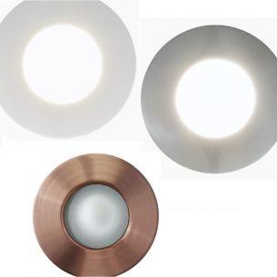 LED-Einbaustrahler Margo Ø8,4cm, 1x 5Watt LED, 3 Farben