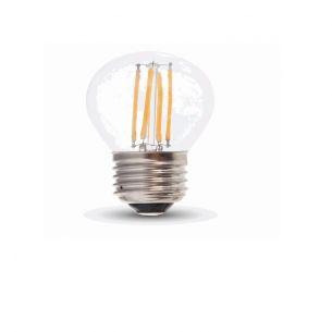 LED E27 Tropfen 4 Watt 400 Lumen 2700 Kelvin