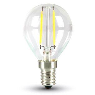 LED E14 Tropfen 2 Watt 180 Lumen 2700 Kelvin