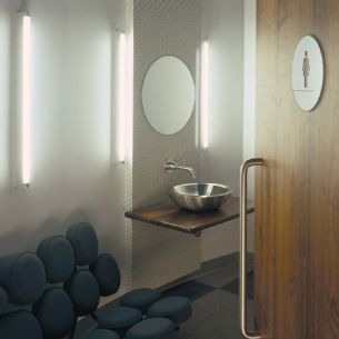 Gradliniges Design für das Bad LED Leuchte Drop