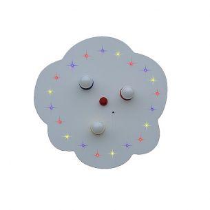 LED Sternenhimmel Lampe mit zuschaltbarem Raumlicht - Made in Germany -
