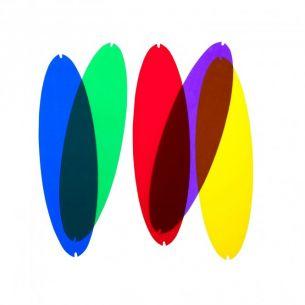Farbfilter zur QUEEN TITANIA von LUCEPLAN - in blau, gelb, violett, grün oder rot wählbar