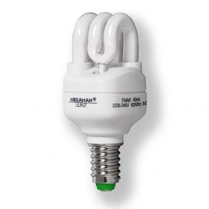 Energiesparlampe Liliput  E14 5W warmweiß 2.700K 8.4cm