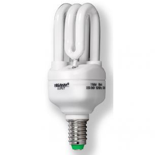 Energiesparlampe  Liliput  E14 11W warmweiß 2.700K  10.8cm