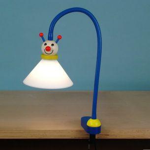 Kinder-Tischlampe zum Anklemmen mit Flexarm