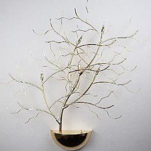 Wandleuchte Treelamp messing,der Eyecatcher in jedem Raum