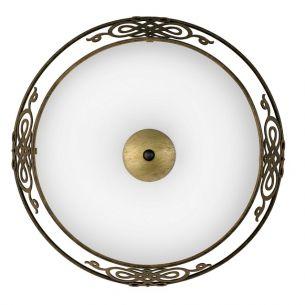 Deckenleuchte  Durchmesser 39,5cm 2x 60 Watt, 13,30 cm, 39,50 cm