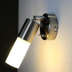 Energiesparende Wandleuchte -- inkl. Leuchtmittel