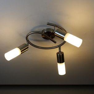 Energiesparende 3-flammige Deckenleuchte -- inkl. Leuchtmittel