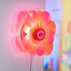Die Blumenleuchte verzaubert das Kinderzimmer mit Ihrem Licht!