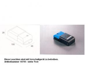14V/0,8A LED Versorgung für max. 20 Module