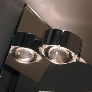 Spiegeleinbauleuchte PUK MIRROR in Chrom - Linse, Glas oder Farbfilter separat bestellbar Chrom