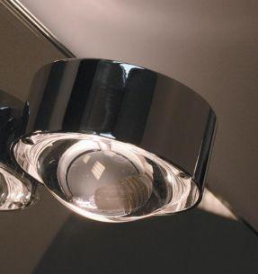 Halogen-Spiegeleinbauleuchte Puk Mirror zur eigenen Inszenierung in 3 Oberflächen