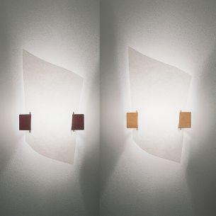 Puristische Wandlampe für individuelle Ansprüche - in 2 Holzvarianten erhältlich