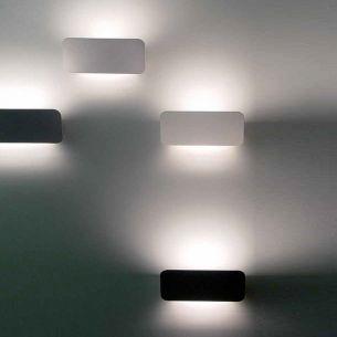 Designer Wandleuchte LANE von LUCEPLAN - Länge 22 cm - für indirekte Beleuchtung