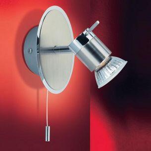 Wandstrahler mit 1 Spot - hohe Schutzklasse - ideal fürs Badezimmer