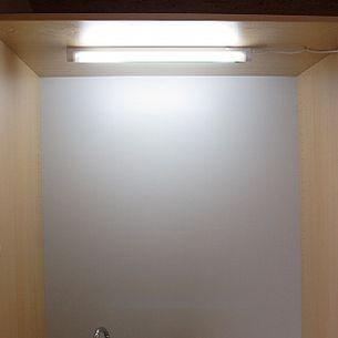 minilichtleiste zum unterbau oder wandaufbau 8w. Black Bedroom Furniture Sets. Home Design Ideas