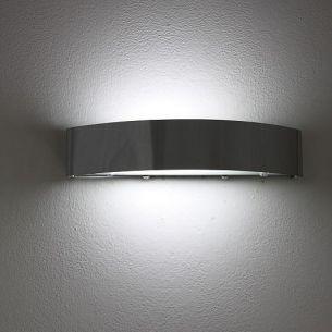 Energiesparende Wandleuchte in Chrom - inkl. Leuchtmittel