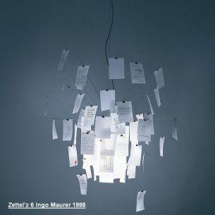 Zettel'z 6 - Designleuchte von Ingo Maurer 1998