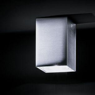 Deckenstrahler dox  Außen- und Innen-Downlight aus Edelstahl