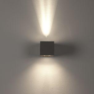 Effekt-Aussenlampe JOY - silbergrau grau