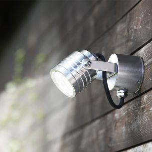Power LED Aussenwandspot - nur 3 Watt