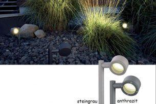 grau, LED Lampen